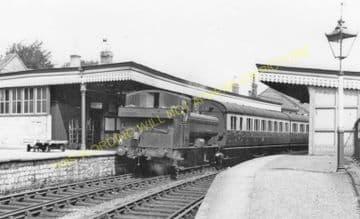 Bridport Railway Station Photo. West Bay - Powerstock. Maiden Newton Line. (31)