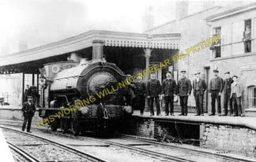 Bridport Railway Station Photo. West Bay - Powerstock. Maiden Newton Line. (5)