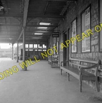 Bridport Railway Station Photo. West Bay - Powerstock. Maiden Newton Line. (9)