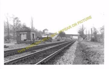 Brinkworth Railway Station Photo. Wootton Bassett - Great Somerford. GWR. (2).