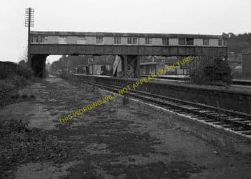 Broadstone Railway Station Photo. Wimborne to Poole and Hamworthy Lines. (10)