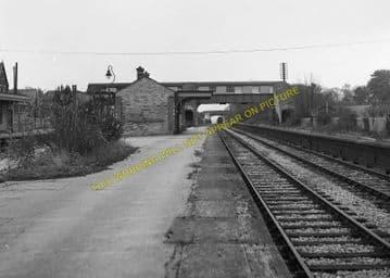 Broadstone Railway Station Photo. Wimborne to Poole and Hamworthy Lines. (11)