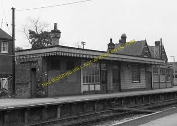 Broadstone Railway Station Photo. Wimborne to Poole and Hamworthy Lines. (12)