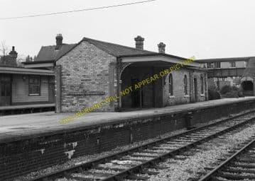 Broadstone Railway Station Photo. Wimborne to Poole and Hamworthy Lines. (15)