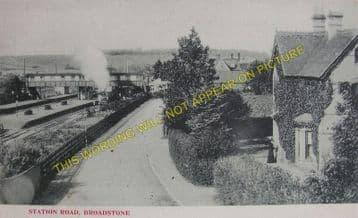 Broadstone Railway Station Photo. Wimborne to Poole and Hamworthy Lines. (20)