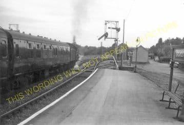 Broadstone Railway Station Photo. Wimborne to Poole and Hamworthy Lines. (23)