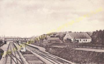 Broadstone Railway Station Photo. Wimborne to Poole and Hamworthy Lines. (25).