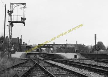 Broadstone Railway Station Photo. Wimborne to Poole and Hamworthy Lines. (6)