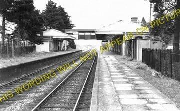 Broadway Railway Station Photo. Laverton - Willersey. Toddington Line. (2)