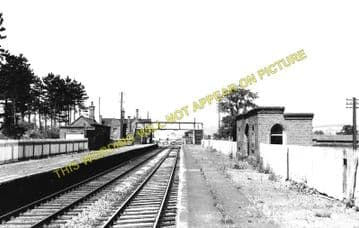 Bromfield Railway Station Photo. Ludlow - Onibury. Woofferton to Craven Arms (1)