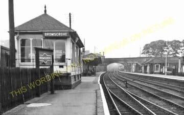 Bromsgrove Railway Station Photo. Stoke Works - Blackwell. Barnt Green Line. (11)