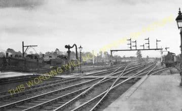 Bromsgrove Railway Station Photo. Stoke Works - Blackwell. Barnt Green Line. (12)
