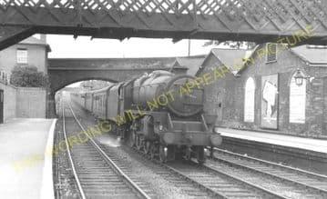 Bromsgrove Railway Station Photo. Stoke Works - Blackwell. Barnt Green Line. (13)