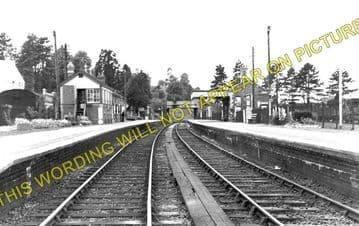 Bromyard Railway Station Photo. Rowden Mill - Suckley. Leominster Line. (1)