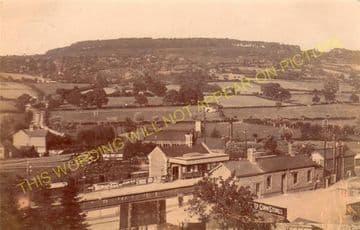 Bromyard Railway Station Photo. Rowden Mill - Suckley. Leominster Line. (11)