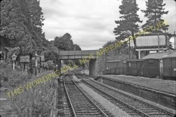Bromyard Railway Station Photo. Rowden Mill - Suckley. Leominster Line. (12)