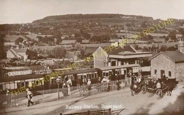 Bromyard Railway Station Photo. Rowden Mill - Suckley. Leominster Line. (13)