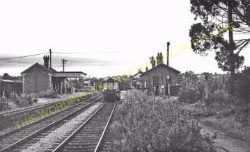Bromyard Railway Station Photo. Rowden Mill - Suckley. Leominster Line. (16)