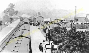 Bromyard Railway Station Photo. Rowden Mill - Suckley. Leominster Line. (18)