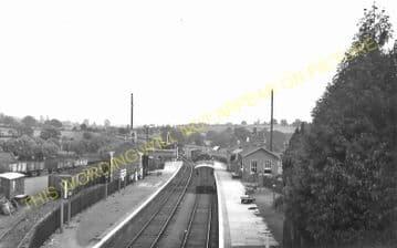 Bromyard Railway Station Photo. Rowden Mill - Suckley. Leominster Line. (19)