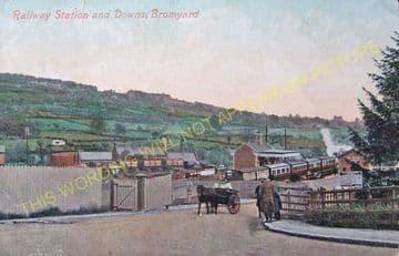 Bromyard Railway Station Photo. Rowden Mill - Suckley. Leominster Line. (4)