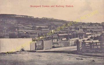 Bromyard Railway Station Photo. Rowden Mill - Suckley. Leominster Line. (9)