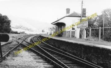 Bronwydd Arms Railway Station Photo. Carmarthen - Conwil. Pencader Line. (2)