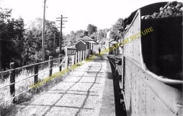 Bronwydd Arms Railway Station Photo. Carmarthen - Conwil. Pencader Line. (3)