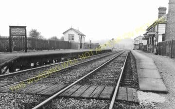 Broome Railway Station Photo. Craven Arms & Stokesay - Nopton Heath. (5)