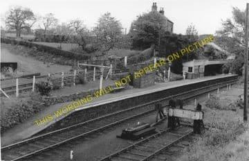 Broomielaw Railway Station Photo. Barnard Castle - Winston. Gainford Line. (1)