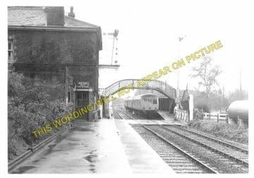 Brundall Railway Station Photo. Whitlington to Lingwood and Buckenham Lines (2)