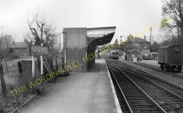 Brundall Railway Station Photo. Whitlington to Lingwood and Buckenham Lines (3)