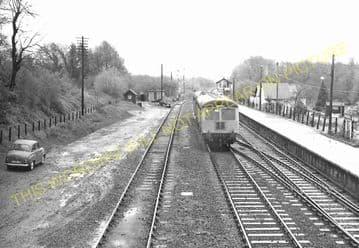 Brundall Railway Station Photo. Whitlington to Lingwood and Buckenham Lines (4)