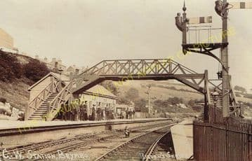 Brymbo Railway Station Photo. Wrexham - Ffrith, Coed Talon and Mold Line. (9)