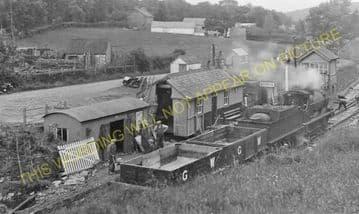 Bryn Teify Railway Station Photo. Pencader - Lampeter. Great Western Railway (9)