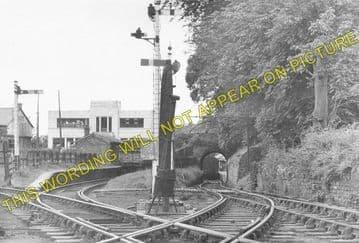 Brynamman East Railway Station Photo. Ystalyfera - Garnant. Midland Railway. (1)..