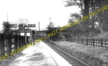 Brynamman East Railway Station Photo. Ystalyfera - Garnant. Midland Railway. (2)