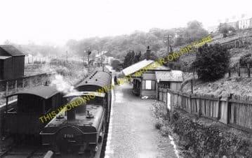 Brynamman West Railway Station Photo. Garnant and Pantyffynnon Line. GWR. (4)