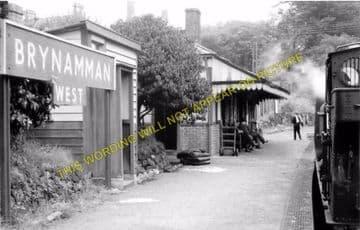 Brynamman West Railway Station Photo. Garnant and Pantyffynnon Line. GWR. (5)