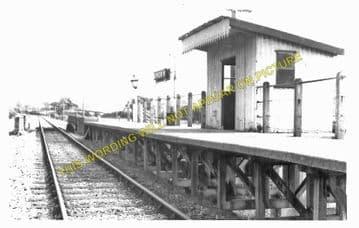 Bryngwyn Railway Station Photo. Llanfyllin - Llanfechain. Llanymynech Line (5)