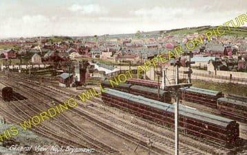 Brynmawr Railway Station Photo. Beaufort - Clydach. Nantybwch to Abergavenny (1)