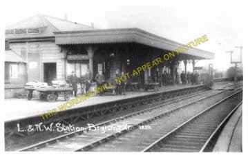 Brynmawr Railway Station Photo. Beaufort - Clydach. Nantybwch to Abergavenny (5)