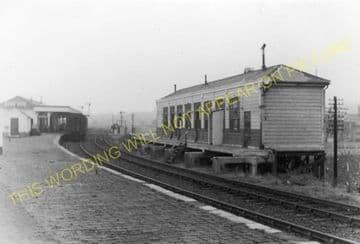 Brynmawr Railway Station Photo. Beaufort - Clydach. Nantybwch to Abergavenny (6)
