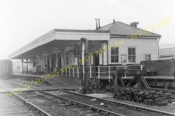 Brynmawr Railway Station Photo. Beaufort - Clydach. Nantybwch to Abergavenny (7).