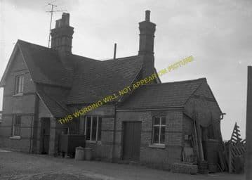 Buckden Railway Station Photo. Huntingdon - Grafham. Kimbolton Line. (7)
