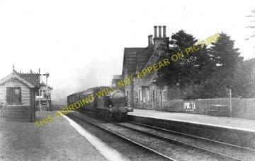 Bucknell Railway Station Photo. Hopton Heath - Knighton. Craven Arms Line. (1)..