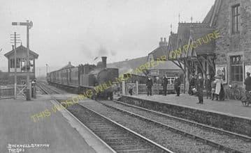 Bucknell Railway Station Photo. Hopton Heath - Knighton. Craven Arms Line. (13)