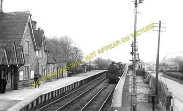 Bucknell Railway Station Photo. Hopton Heath - Knighton. Craven Arms Line. (7)
