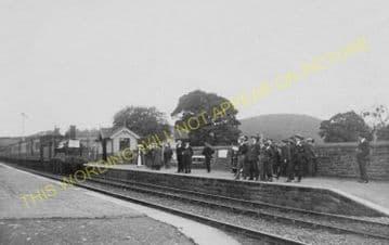 Bucknell Railway Station Photo. Hopton Heath - Knighton. Craven Arms Line. (9)