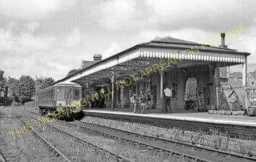 Bude Railway Station Photo. Holsworthy and Halwill Jct. & Beaworthy Line. (8)